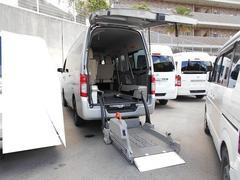 NV350キャラバンバン福祉車両 4基積 リフト式