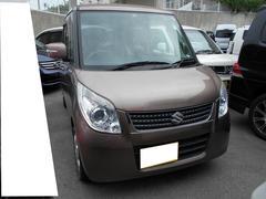 沖縄の中古車 スズキ パレット 車両価格 57.8万円 リ済込 平成24年 6.6万K ライトブラウン