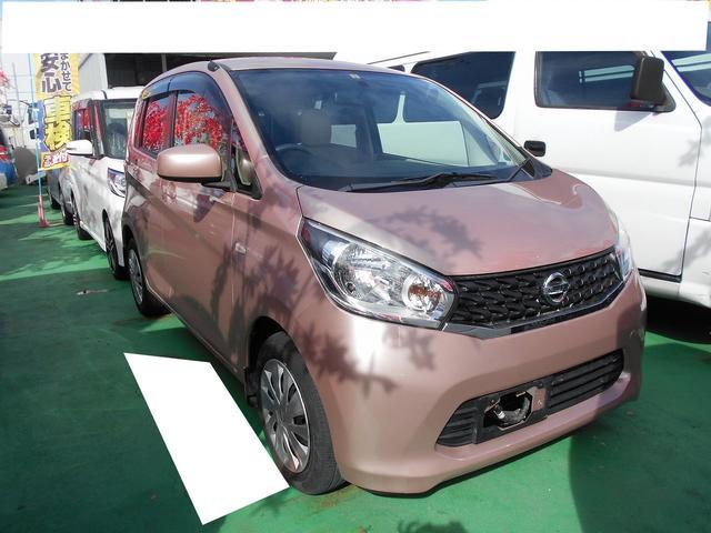 沖縄の中古車 日産 デイズ 車両価格 60.8万円 リ済込 平成26年 3.8万km ピンク