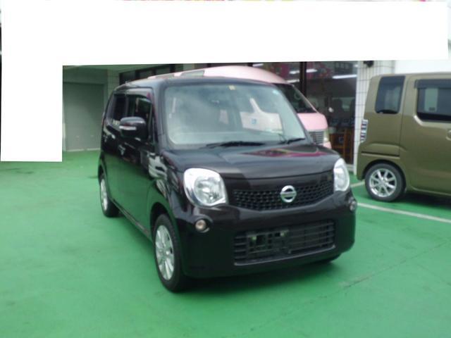 沖縄の中古車 日産 モコ 車両価格 62.8万円 リ済込 平成26年 5.8万km ブラウン