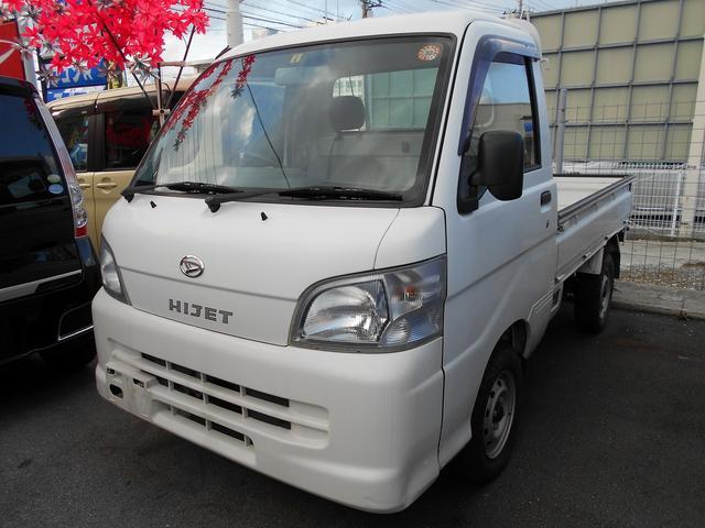 沖縄の中古車 ダイハツ ハイゼットトラック 車両価格 54.8万円 リ済込 平成21年 5.2万km ホワイト
