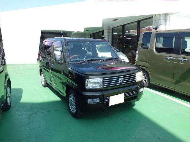 沖縄の中古車 ダイハツ ネイキッド 車両価格 28万円 リ済込 2002(平成14)年 11.9万km ダークオリーヴ