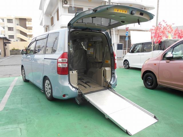 トヨタ 福祉車両 2基積 電動スローパー