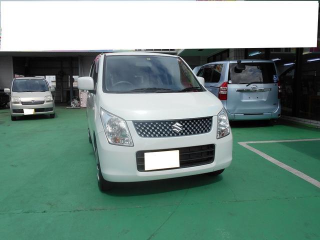 沖縄の中古車 スズキ ワゴンR 車両価格 52.8万円 リ済込 平成24年 4.7万km ホワイト