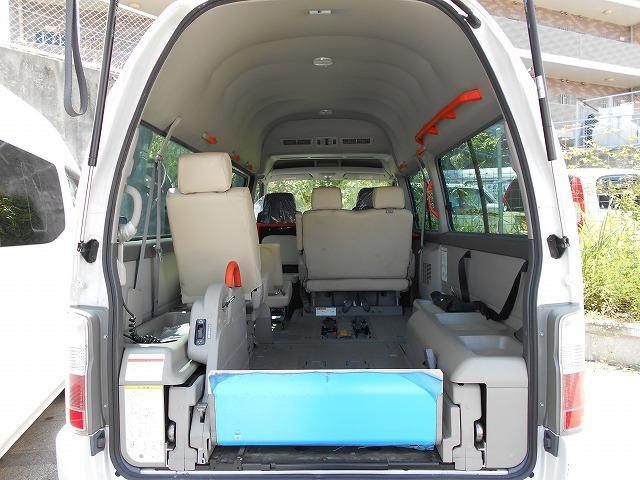 沖縄県の中古車ならキャラバンバス 福祉車両 2基積 リフト式