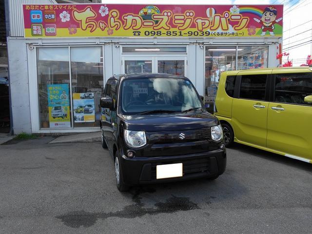 沖縄の中古車 スズキ MRワゴン 車両価格 54.8万円 リ済込 2013(平成25)年 6.5万km ブラウン