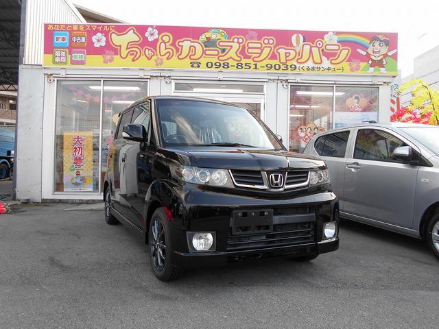 沖縄の中古車 ホンダ ゼストスパーク 車両価格 47.8万円 リ済込 2010(平成22)年 7.4万km ブラック