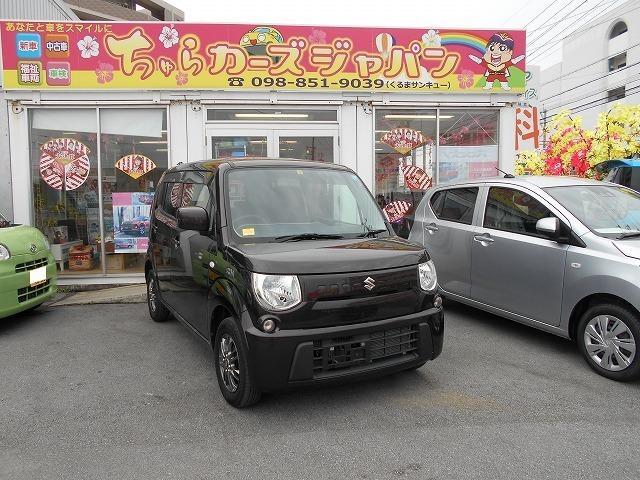 沖縄の中古車 スズキ MRワゴン 車両価格 52.8万円 リ済込 2013(平成25)年 6.6万km ブラウン