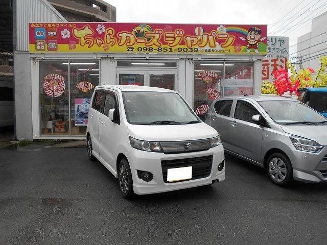 沖縄の中古車 スズキ ワゴンRスティングレー 車両価格 54.8万円 リ済込 2012(平成24)年 8.4万km パール