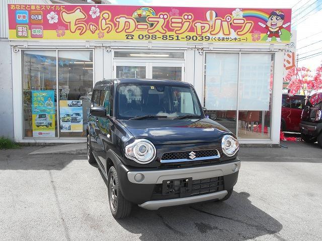 沖縄の中古車 スズキ ハスラー 車両価格 92.8万円 リ済込 2016(平成28)年 3.1万km ブラック