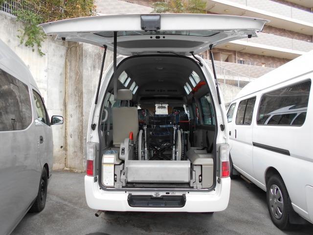 沖縄の中古車 日産 キャラバンバス 車両価格 97.8万円 リ済込 2009(平成21)年 8.5万km ホワイト