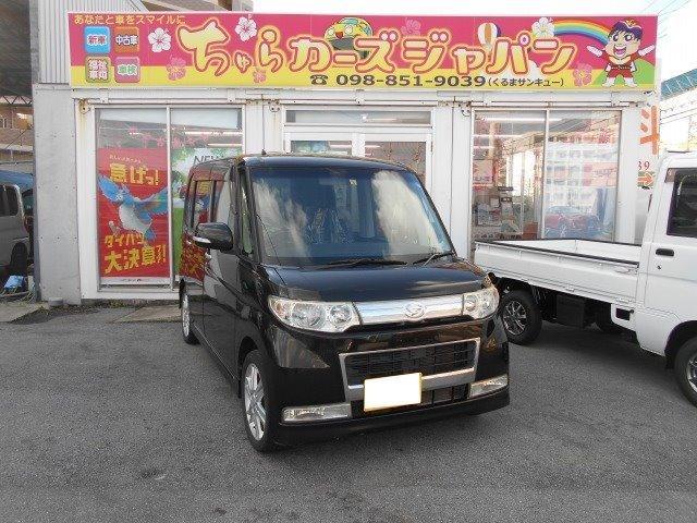 沖縄の中古車 ダイハツ タント 車両価格 37.8万円 リ済込 2009(平成21)年 8.3万km ブラック