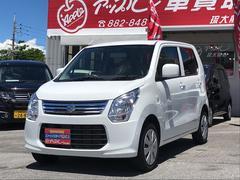 沖縄の中古車 スズキ ワゴンR 車両価格 70万円 リ済込 平成26年 6.9万K ホワイト