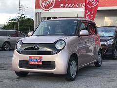 沖縄の中古車 ホンダ N−ONE 車両価格 72万円 リ済込 平成25年 5.8万K ピンクM