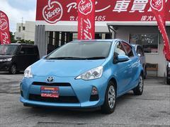 沖縄の中古車 トヨタ アクア 車両価格 95万円 リ済込 平成25年 6.3万K ライトブルー