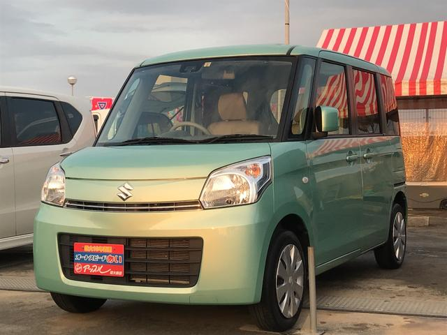 沖縄県の中古車ならスペーシア X  レーダーブレーキ スマートキー ナビ フルセグTV