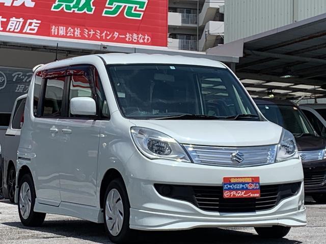 沖縄県の中古車ならソリオ Gリミテッド  エンジンプッシュスタート ナビ フルセグTV