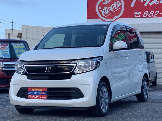 沖縄の中古車 ホンダ N-WGN 車両価格 72万円 リ済込 2014(平成26)年 7.5万km パールホワイト