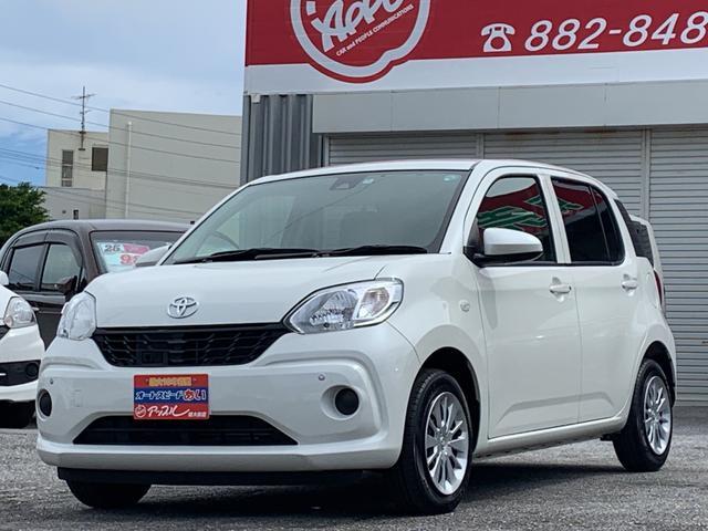 沖縄の中古車 トヨタ パッソ 車両価格 98万円 リ済込 2016(平成28)年 3.0万km パールホワイト