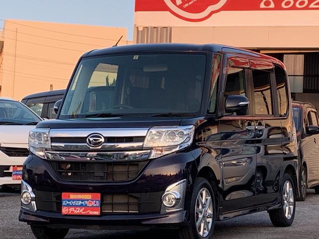 沖縄の中古車 ダイハツ タント 車両価格 113万円 リ済込 2015(平成27)年 7.0万km パープルM