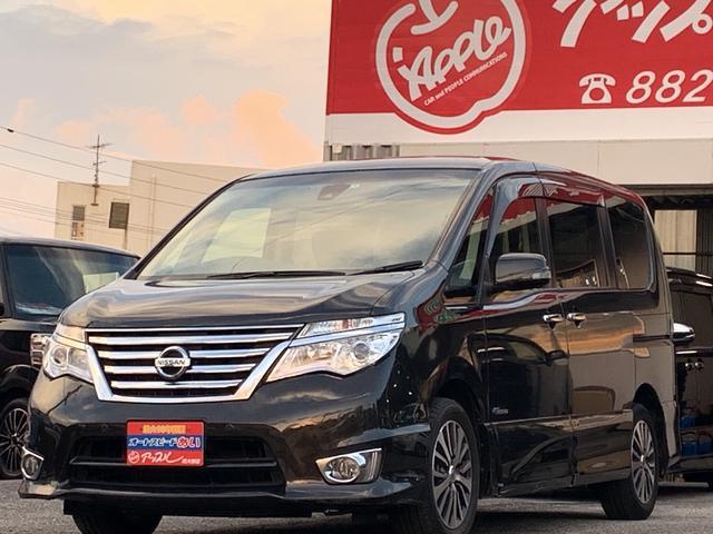 沖縄の中古車 日産 セレナ 車両価格 172万円 リ済込 2015(平成27)年 8.3万km Dブラウン