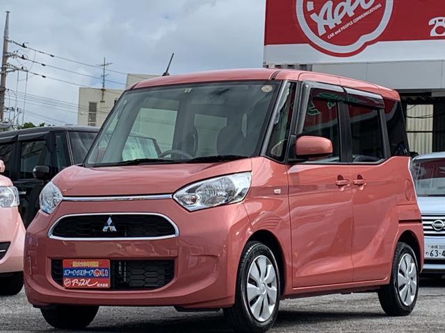 沖縄県の中古車ならeKスペース M ワンオーナー 社外ナビ TV アイドリングストップ