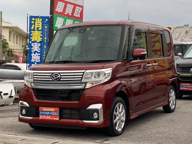 沖縄県の中古車ならタント カスタムX SAII 助手席リフトアップシート福祉車