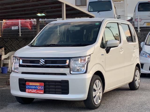 沖縄の中古車 スズキ ワゴンR 車両価格 89万円 リ済込 2019(平成31)年 1.7万km パールホワイト
