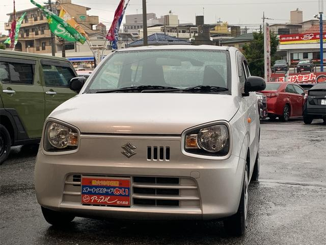 沖縄の中古車 スズキ アルト 車両価格 50万円 リ済込 2016(平成28)年 4.7万km シルバー