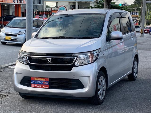 沖縄の中古車 ホンダ N-WGN 車両価格 65万円 リ済込 2015(平成27)年 5.5万km シルバー