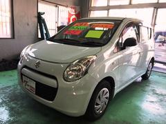 沖縄の中古車 スズキ アルトエコ 車両価格 39万円 リ済込 平成24年 8.6万K リーフホワイト