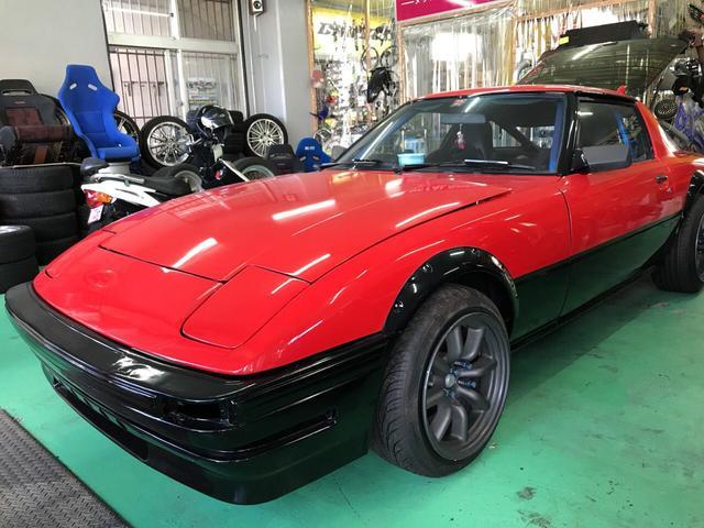 沖縄県の中古車ならサバンナRX-7 13Bターボフル公認車