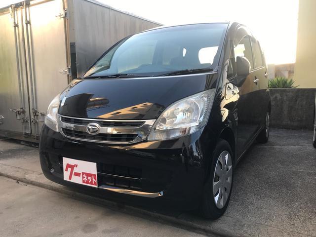 沖縄の中古車 ダイハツ ムーヴ 車両価格 21万円 リ済込 平成20年 15.0万km ブラック