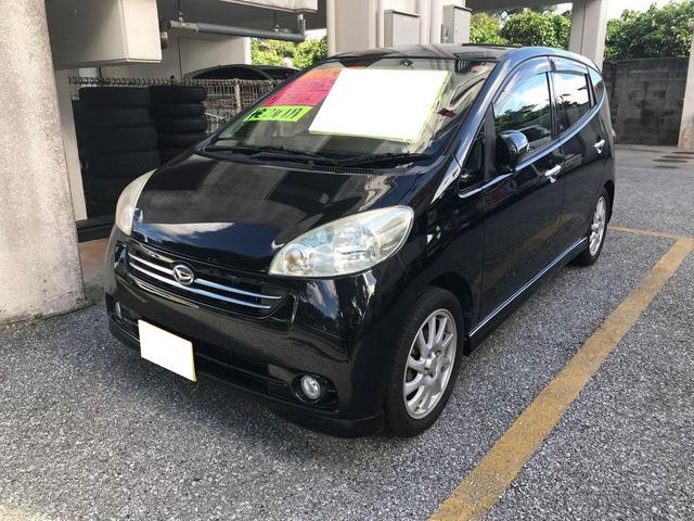 沖縄の中古車 ダイハツ ソニカ 車両価格 35万円 リ済込 2009(平成21)年 5.4万km ブラック