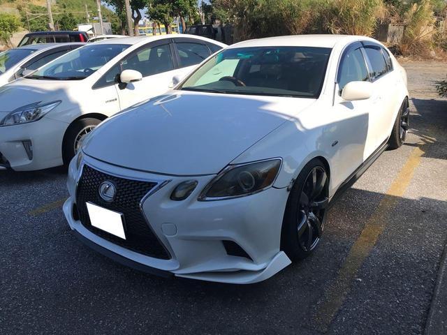 沖縄の中古車 レクサス GS 車両価格 69万円 リ済込 2005(平成17)年 15.5万km パールホワイト