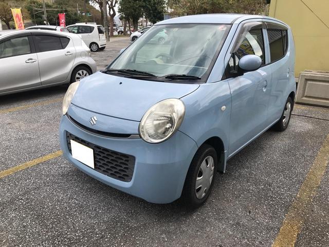 沖縄の中古車 スズキ MRワゴン 車両価格 23万円 リ済込 2010(平成22)年 10.4万km ライトブルー