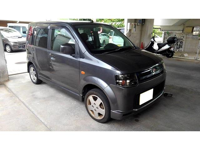 沖縄の中古車 三菱 eKスポーツ 車両価格 19万円 リ済込 2008(平成20)年 12.7万km グレー