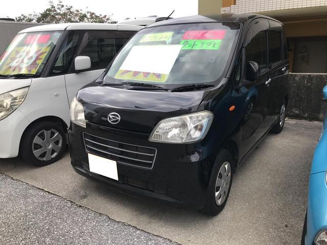 沖縄の中古車 ダイハツ タントエグゼ 車両価格 25万円 リ済込 2010(平成22)年 14.1万km ブラック
