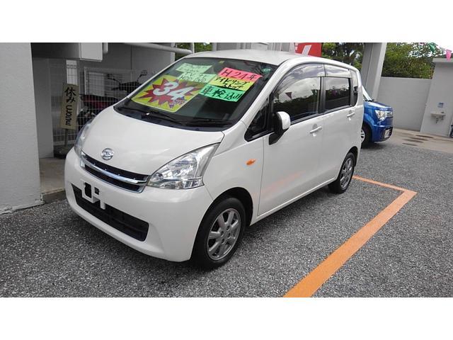 沖縄県の中古車ならムーヴ L タイヤ4本新品 新品レザー調シートカバー