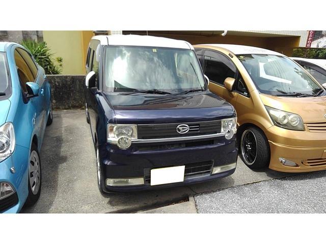 沖縄県の中古車ならムーヴコンテ カスタム X 社外アルミ ベンチシート CD スマートキー 電動格納ミラー