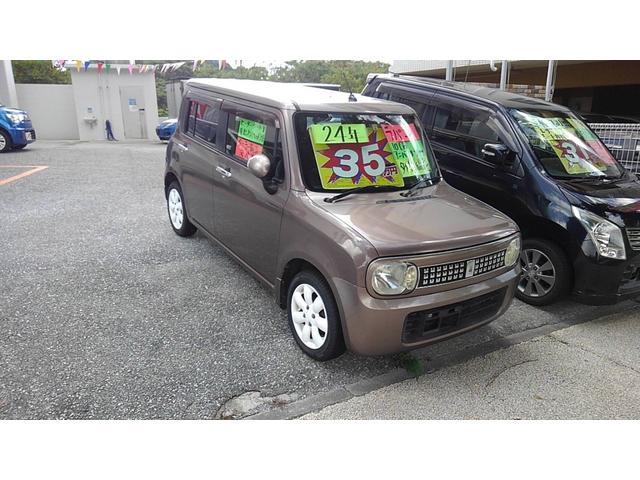 沖縄の中古車 スズキ アルトラパン 車両価格 39万円 リ済込 2012(平成24)年 10.8万km ブラウン
