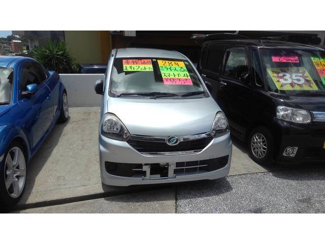 沖縄の中古車 ダイハツ ミライース 車両価格 41万円 リ済込 2016(平成28)年 2.3万km シルバー