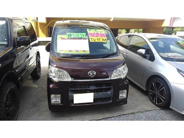 沖縄の中古車 ダイハツ タントエグゼ 車両価格 32万円 リ済込 2010(平成22)年 12.0万km ブラウン