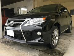 沖縄の中古車 レクサス RX 車両価格 259万円 リ済別 平成25年 3.1万K ブラック