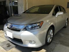 沖縄の中古車 レクサス HS 車両価格 99万円 リ済別 平成21年 8.0万K シルバー