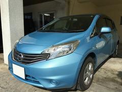 沖縄の中古車 日産 ノート 車両価格 49万円 リ済別 平成25年 5.4万K ライトブルー