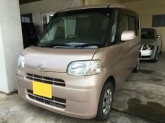 沖縄の中古車 ダイハツ タント 車両価格 49万円 リ済別 平成22年 5.1万K ピンクM