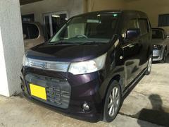 沖縄の中古車 スズキ ワゴンRスティングレー 車両価格 69万円 リ済別 平成25年 4.6万K ダークパープルM