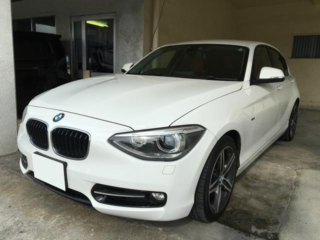 沖縄の中古車 BMW BMW 車両価格 89万円 リ済別 2011(平成23)年 8.0万km パールホワイト