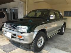 沖縄の中古車 三菱 ストラーダ 車両価格 89万円 リ済別 平成10年 18.0万K グリーンII